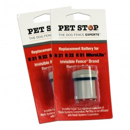 Two Pack, Invisible Fence® Replacement Batteries